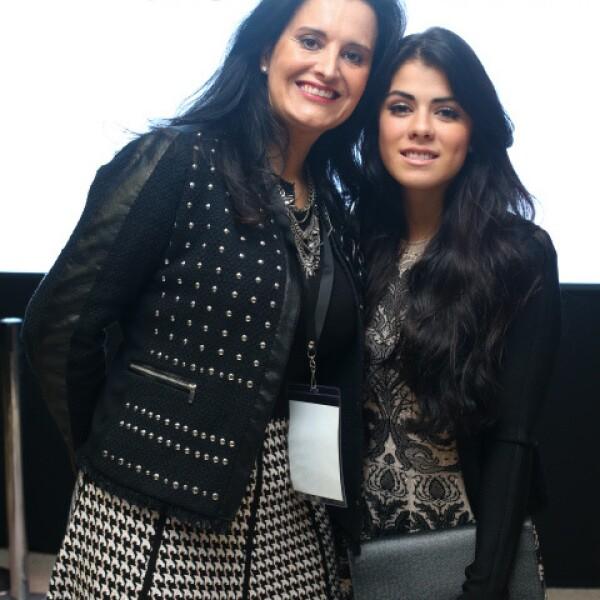 Paola Velasco y Paulina Peña.
