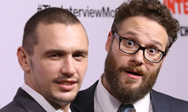 The Interview está protagonizada por James Franco (izq) y Seth Rogen (der). (Foto: Getty Images)