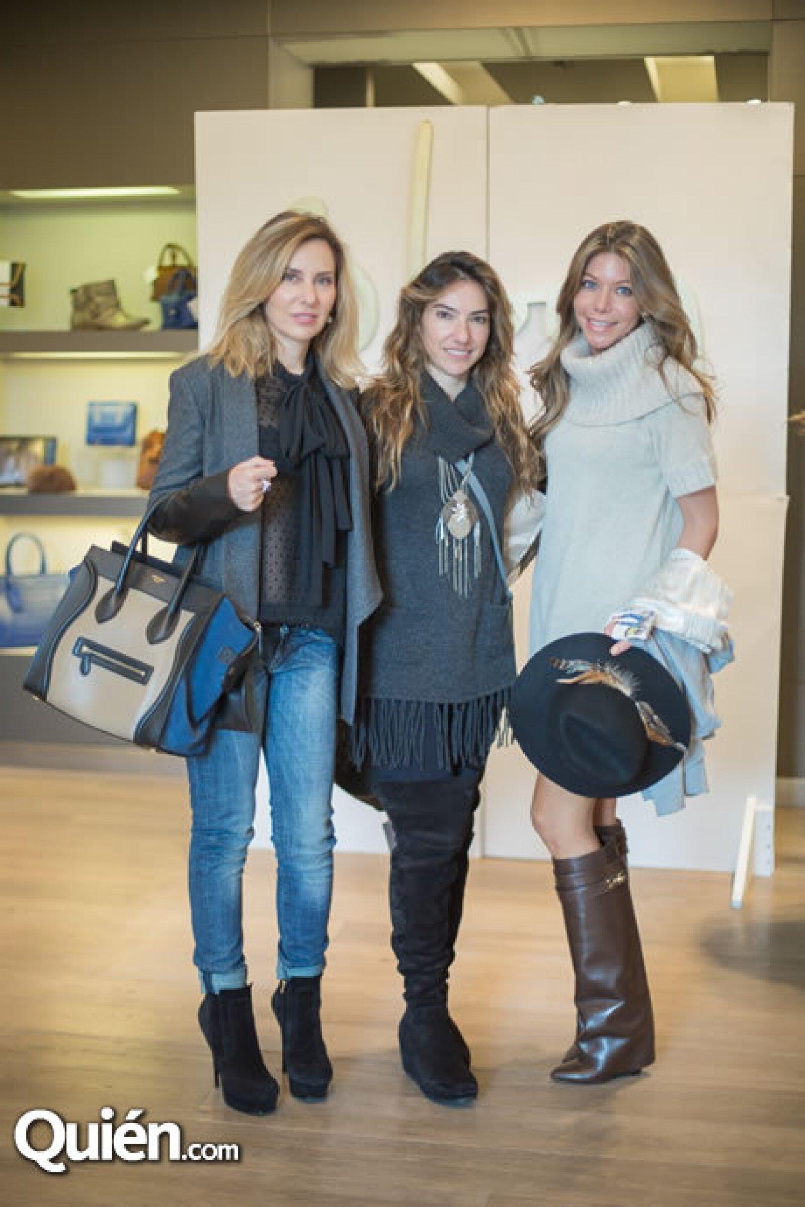 Ximena Chedraui,María José Villa,Paola Henaine