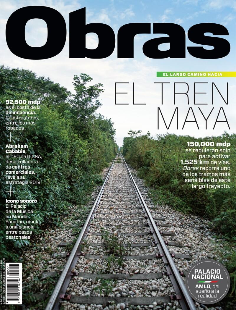 PORTADA OBRAS Tren Maya