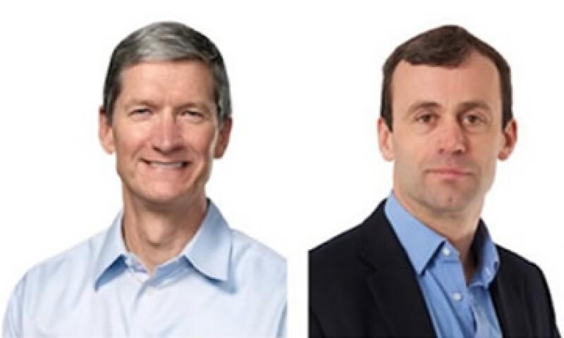 Tim Cook y John Browett coinciden en que las Apple Store representan altos gastos operativos.  (Foto: Cortesía Fortune)