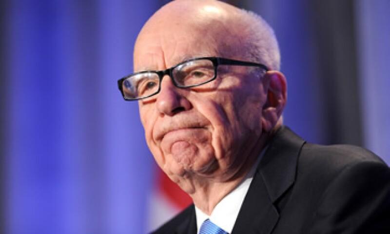 Murdoch elogió a Mike Bloomberg, el alcalde rde Nueva York, y a Rick Santorum, precandidato republicano a la presidencia. (Foto: AP)