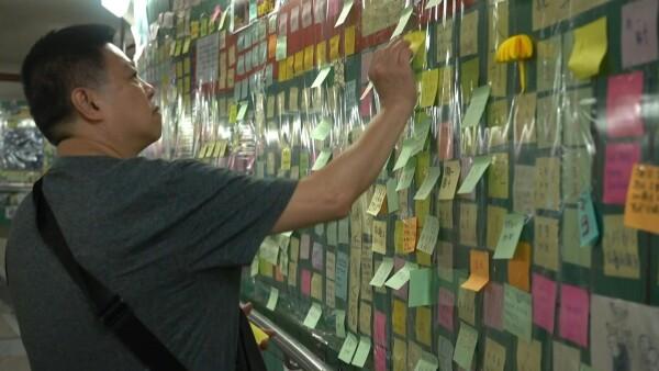 """Inspiradores y rebeldes, así son los """"muros de Lennon"""" en Hong Kong"""