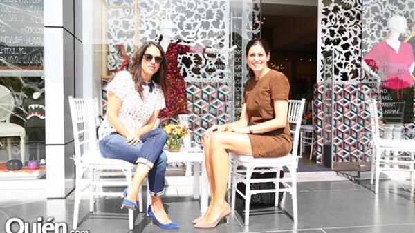 Sofía Reynoso y Elodie Weil