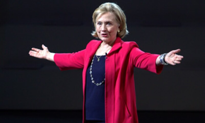 Clinton dijo que en 2015 tomará la decisión de si se postula como candidata presidencial. (Foto: Notimex)