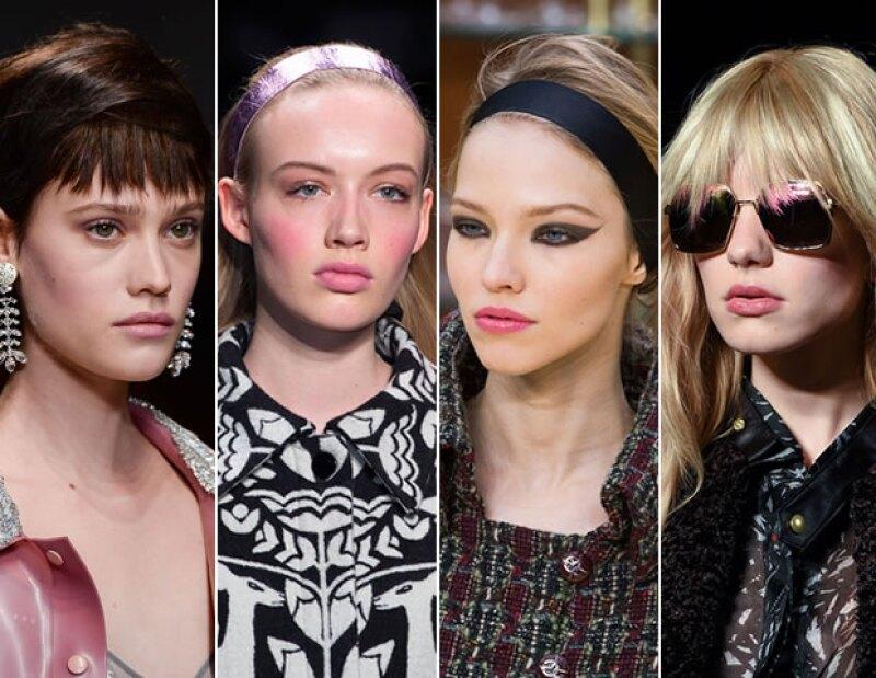 Holly Fulton, Honor, Chanel y Felder Felder, fueron algunas marcas que propusieron un tono rosa.