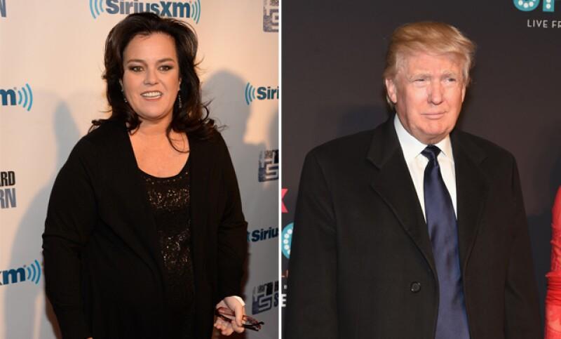 A Donald Trump nunca le enseñaron que si no tiene nada bonito que decir, mejor no diga nada. Esta vez, insultó a la comediante Rosie O'Donnell.