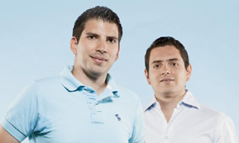 José Del Río y Daniel Martínez fundadores de Fontacto exploran cómo llegar a EU. (Foto: Duilio Rodríguez)