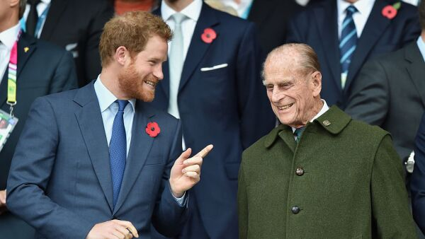 Príncipe Harry y duque de Edimburgo