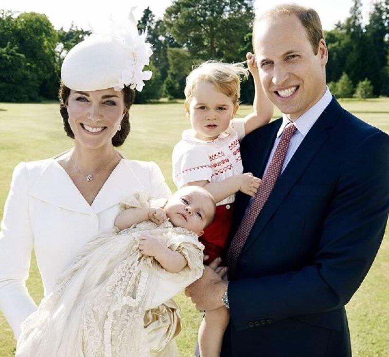Las fotos fueron tomadas en la residencia de Sandringham de la familia real.