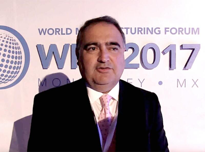 Alejandro Nieto, vicepresidente de Ventas Globales para Internet de las Cosas (IoT) de Softtek