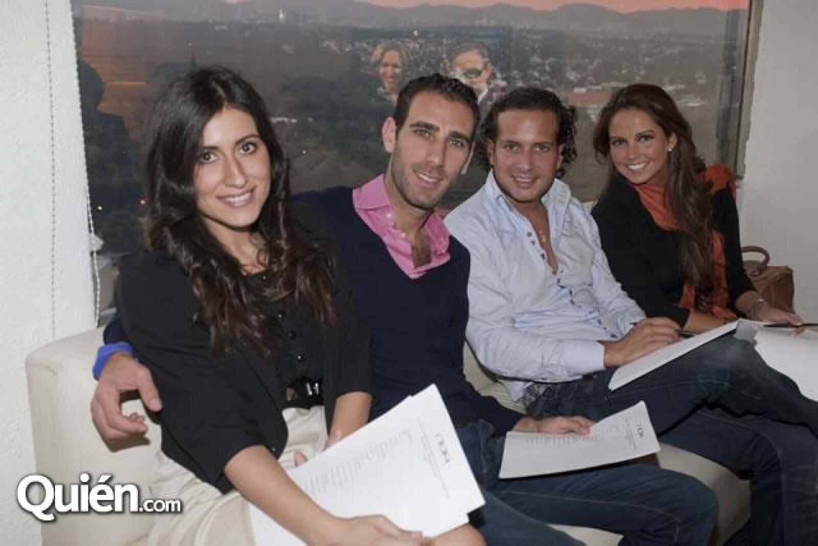 Danniela Ramírez,Asaf Zanzuri,Aviv Mizrahi,Karla Diaz Leal