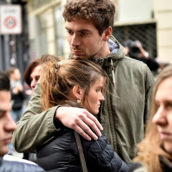 El presidente francés Francois Hollande recordó la fuerza del pueblo francés para enfrentar la tragedia.