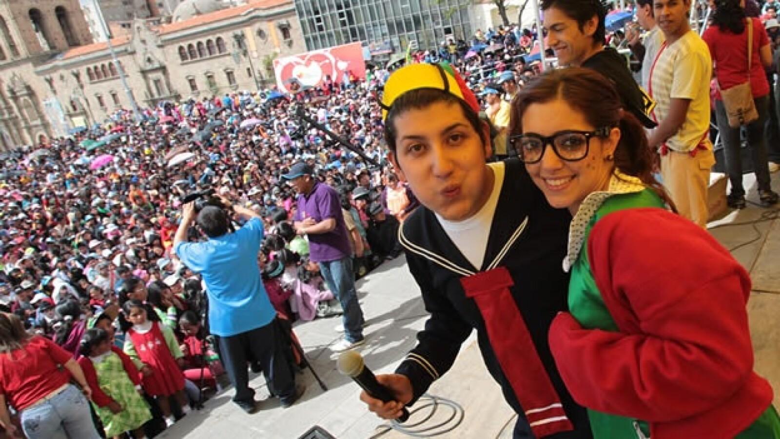 homenaje a chespirito en bolivia
