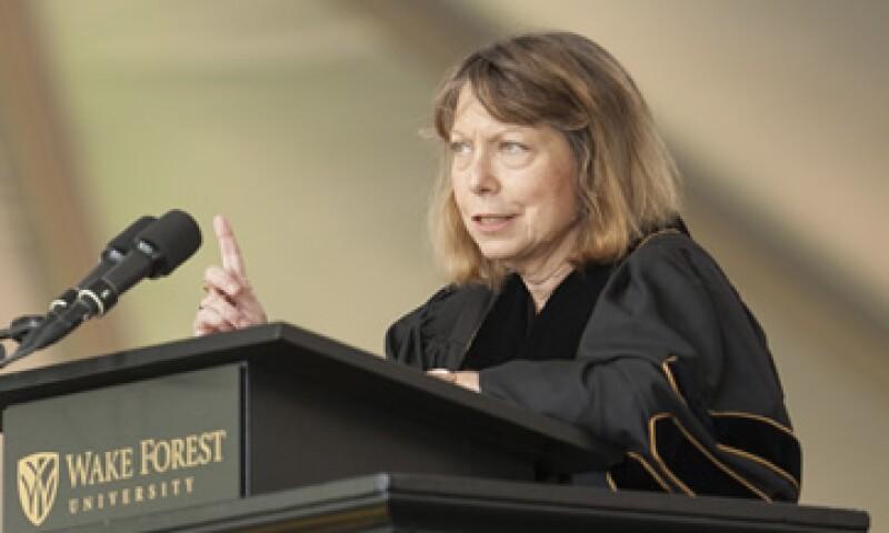 Jill Abramson fue despedida abruptamente la semana pasada. (Foto: Reuters)