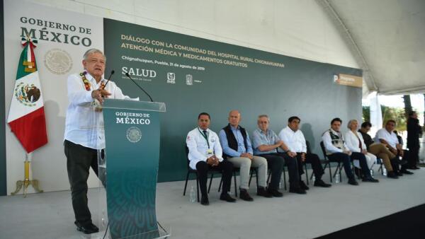 AMLO en Puebla