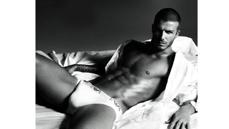 Fue en 2007 cuando Beckham posó por primera vez en ropa interior.