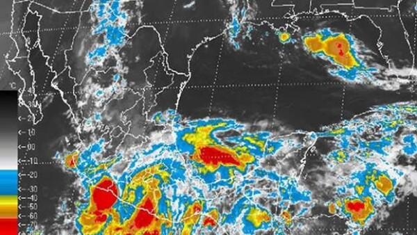 Carlotta tormenta tropical