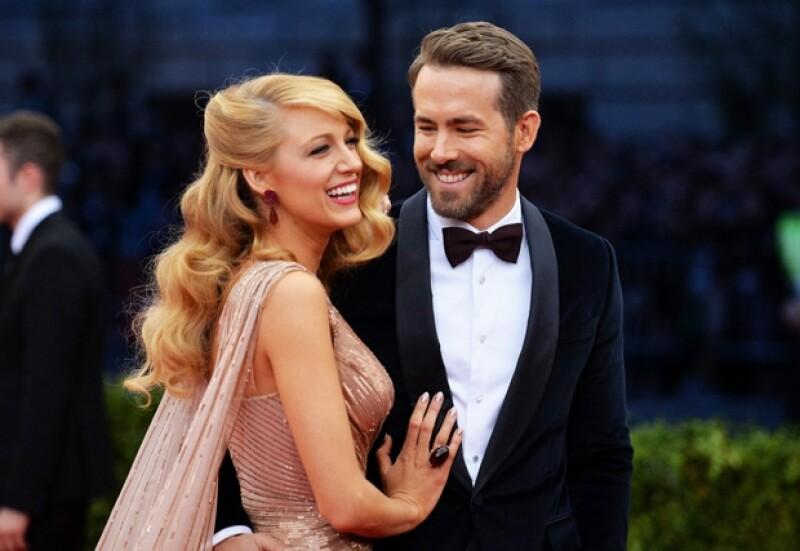 El intérprete bromeó con los posibles nombres que podría dar al bebé que espera con su esposa Blake Lively, y aseguró que el elegido no será un nombre estilo Hollywood.