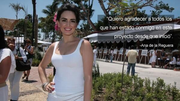 Ana de la Reguera ha hecho una labor altruista muy importante para Veracruz.