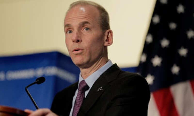 Dennis A. Muilenburg ha sido director de operaciones de Boeing desde 2013. (Foto: Getty Images )