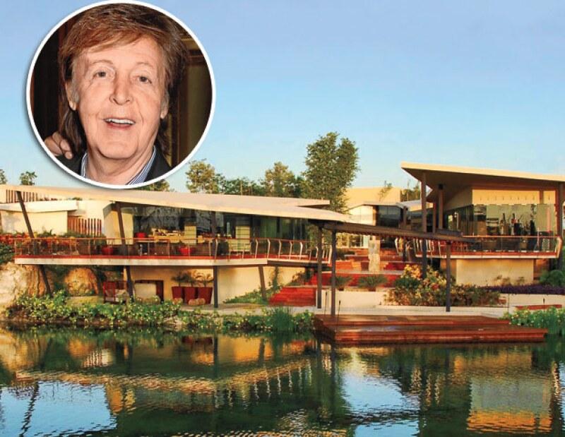 ROSEWOOD MAYAKOBA. Se ha vuelto uno de los destinos top de las leyendas musicales, entre las que se encuentra Paul McCartney.