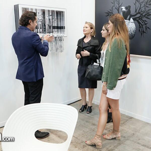 Ricardo Reyes, Leonor Coppel, Gabriela Antillon y Fernanda Rogel