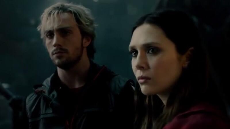 avengers elizabeth olsen aaron taylor-johnson