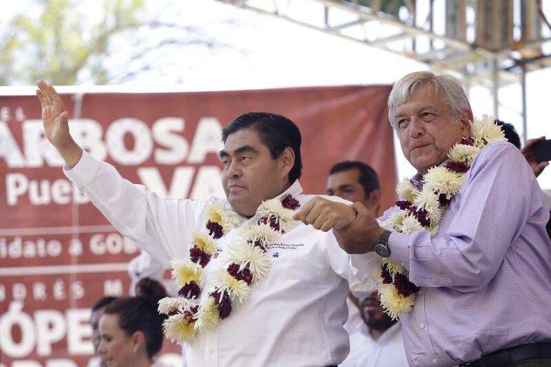 """¡Barbosa gobernador!"""