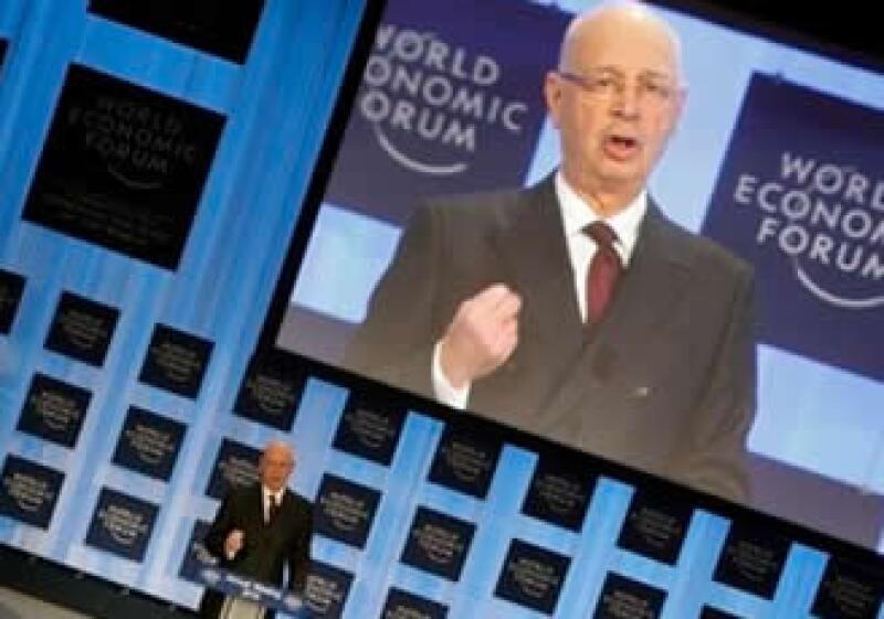 Klaus Schwab fundó el Foro Económico de Davos para intercambiar preocupaciones y conocimientos sobre los problemas mundiales. (Foto: AP)