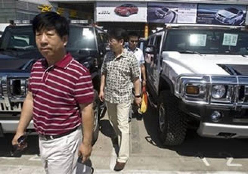 La empresa Sichuan Tengzhong Heavy afirmó en un comunicado que el gobierno chino debe autorizar la compra de la unidad de GM.  (Foto: AP)