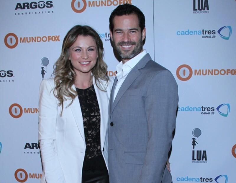 Ludwika y Emiliano se casaron en abril del año pasado.