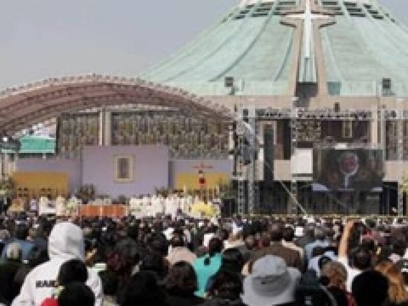 La semana pasada el templo guadalupano alojó el VI Encuentro Mundial de las Familias. (Foto: Reuters)