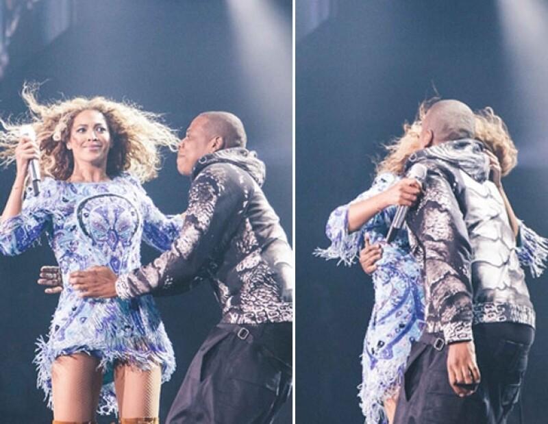 """Sin duda la gira """"Mrs. Carter Show World Tour"""" ha estado llena de momentos cómicos y hasta preocupantes. Aquí la recapitulación de desmayos, besos y hasta suspensiones."""