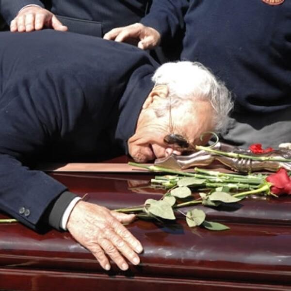 Sara Montiel funeral 2