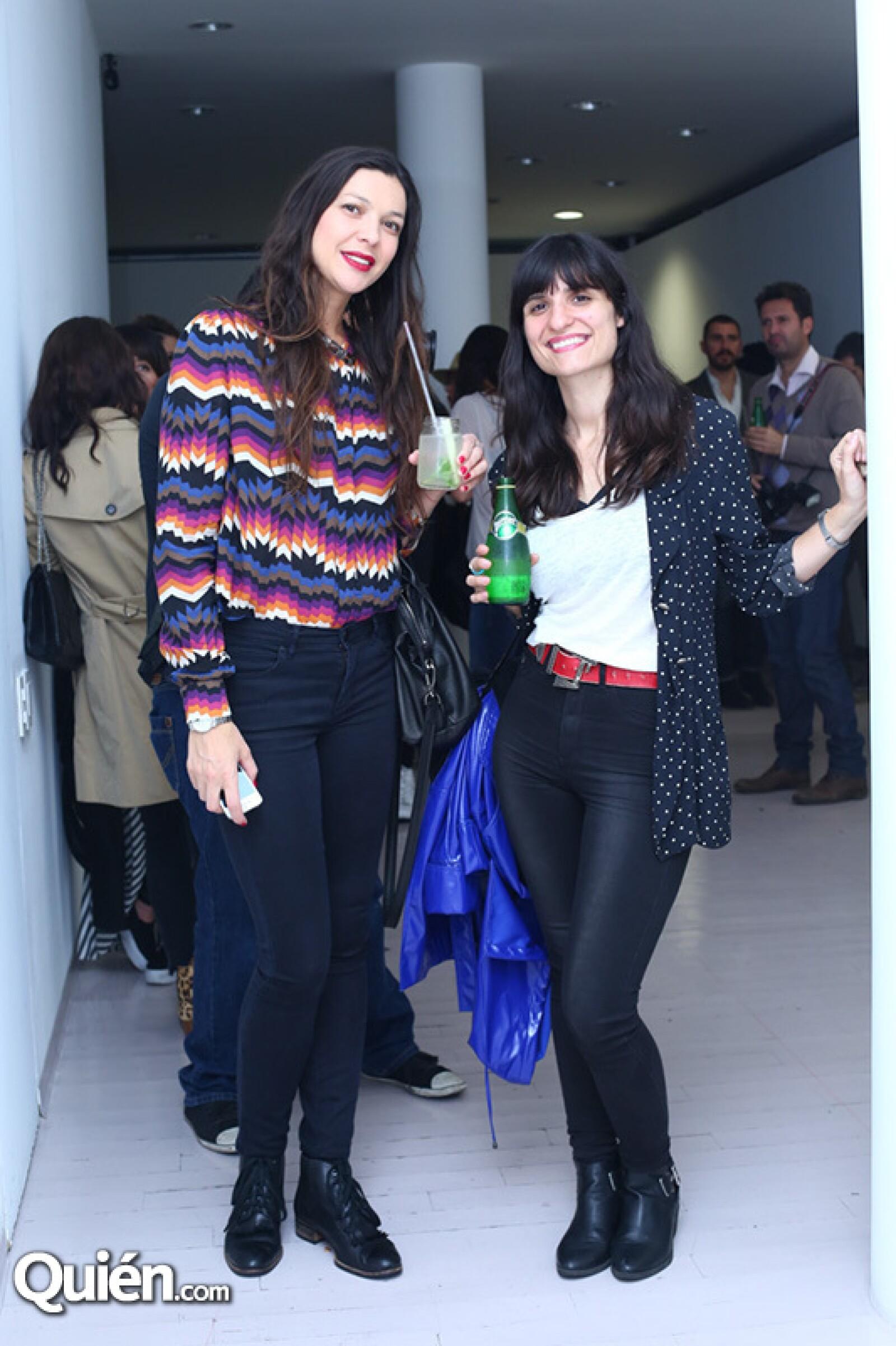 Yael Herdier y Laura Ormeño
