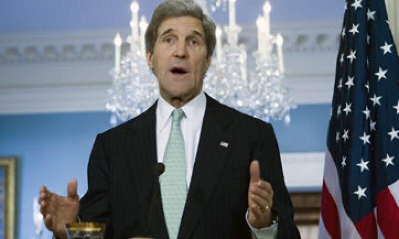 Como parte de su confirmación en el cargo en enero, Kerry aceptó despojarse de inversiones en decenas de compañías. (Foto: AP)