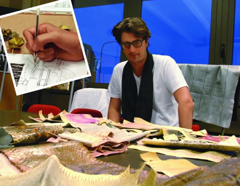 El linaje de Bottega Veneta se transmitió a Gabriel. Su atención al detalle de materiales y diseños convierte sus bolsos en un preciado objeto del deseo.