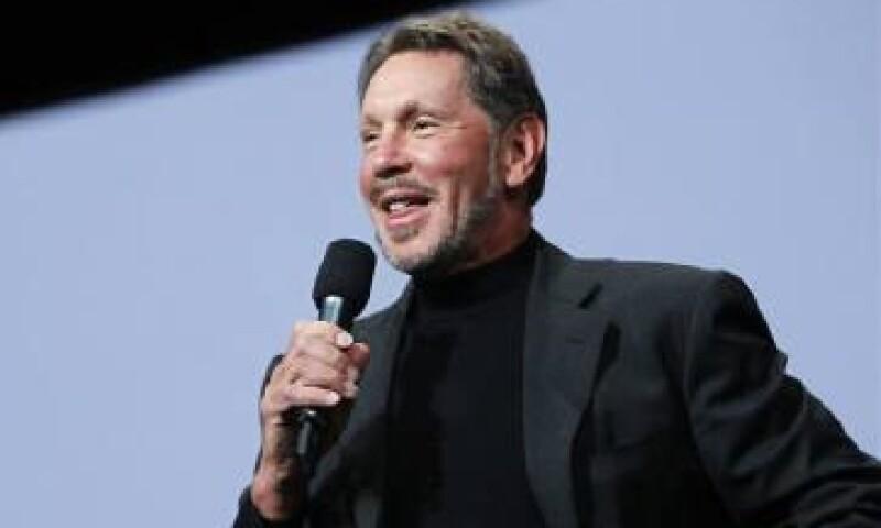 En 2010, Larry Ellison, CEO de Oracle, contrató como presidente al ex director ejecutivo de HP. (Foto: Reuters)