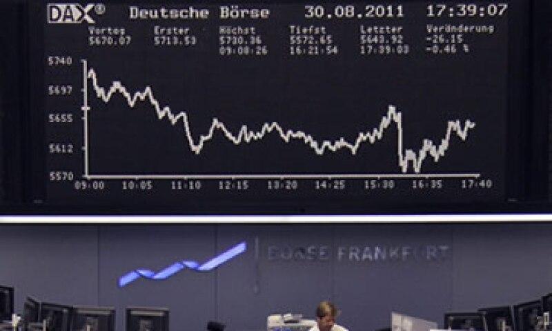 El DAX sufrió su peor caída mensual en agosto desde septiembre de 2002. (Foto: Reuters)
