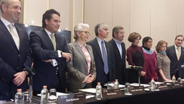 Académicos, intelectuales y líderes empresariales respaldan la iniciativa ciudadana de #Ley3de3. (Foto: CNNExpansión)