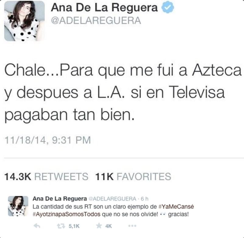 Ana de la Reguera, Luis Gerardo Méndez y más celebridades expresaron sus opiniones en torno a la respuesta que dio Angélica Rivera sobre la polémica propiedad.