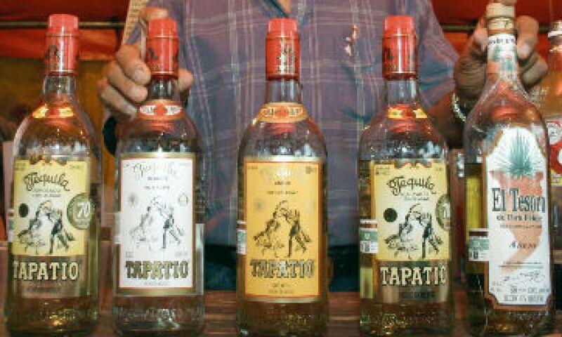 tequilas botellas