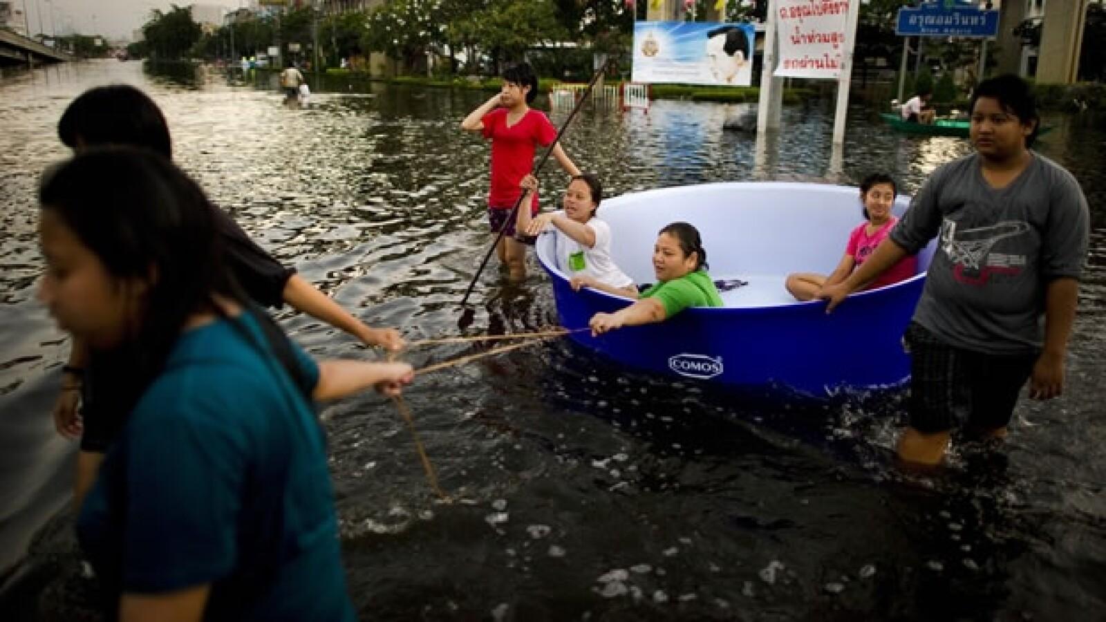 bangkok tailandia inundaciones 04