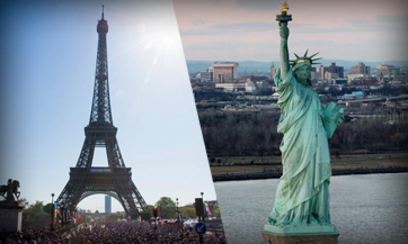 La fortuna de los superricos de Estados Unidos y Francia suma más de 2,000 millones de dólares. (Foto: Especial)
