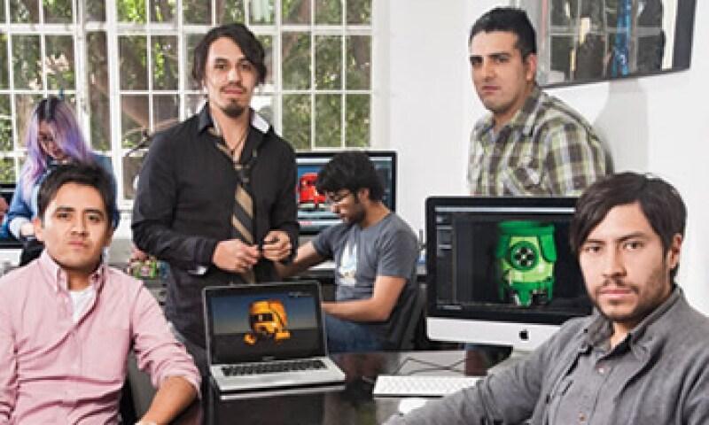 Alucina Studio vende diseños para páginas de internet y produce videojuegos. (Foto: Adán Gutiérrez)