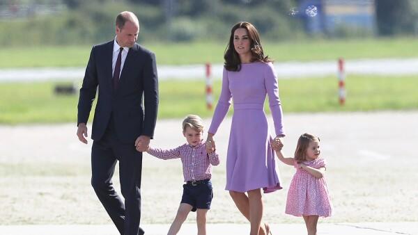 Príncipe William, Kate Middleton, George y Charlotte