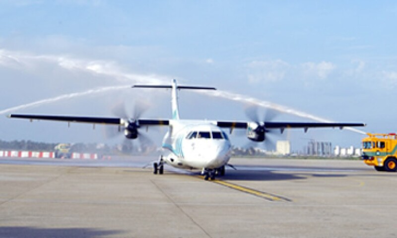 Aeromar apuesta por el turismo de negocios y los viajeros que acuden al sur de Texas por motivos de compras.(Foto: Cuartoscuro)