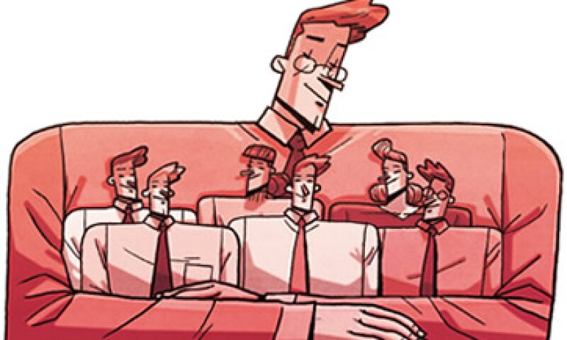 Las empresas con menos empleados fortalecerán lazos entre líderes y subordinados para reducir las barreras de comunicación y generar nuevas ideas. (Foto: Ilustración: Luis Ledesma.)