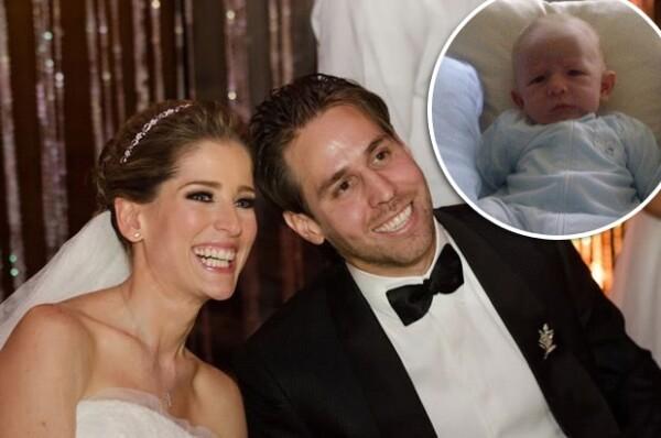 María Inés y Gustavo se casaron en septiembre de 2013 en una espectacular boda y casi un año después se convirtieron en papás de Pedro Pablo.
